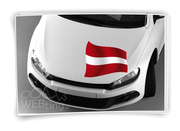sterreich flagge fahne fu ball aufkleber sport em wm auto. Black Bedroom Furniture Sets. Home Design Ideas