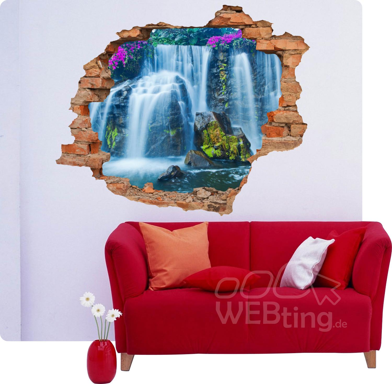 3d Fliesen Wasserfall