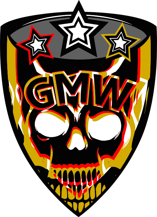 Gmw German Most Wanted Aufkleber Digitaldruck Farblich