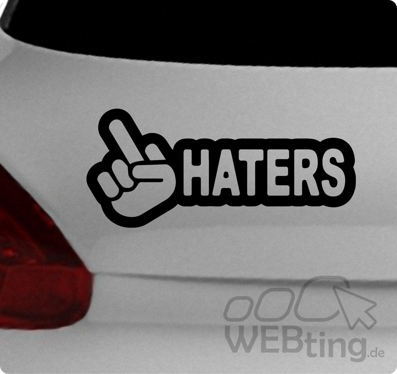 Jdm Aufkleber Haters Sticker Decals Shocker Sponsoren Tuning Autoaufkleber 92