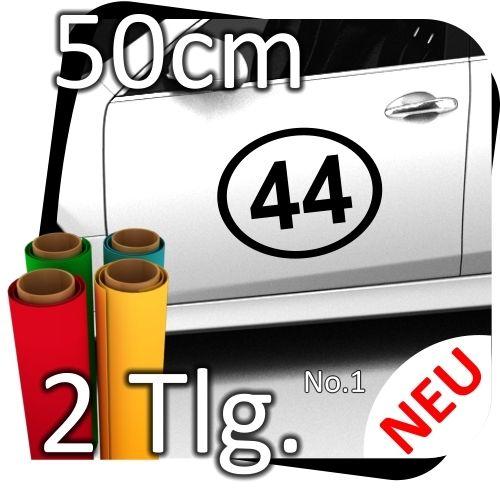 2x-50cm-Nummer-frei-whlbar-Startnummer-Auto-Autoaufkleber-Mottorrad-Sport-No1-180800123491