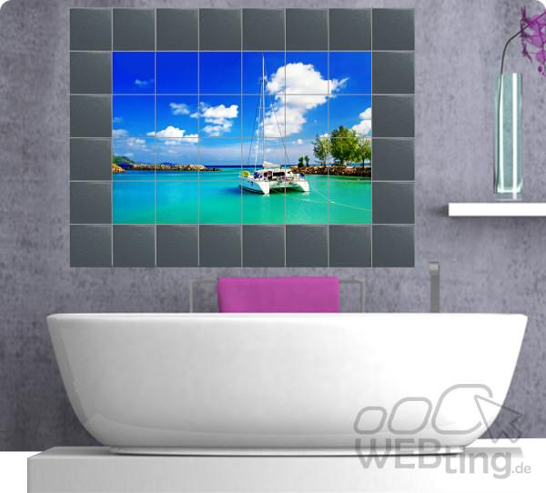 Fliesenaufkleber-Fliesenbild-Fliesen-Aufkleber-Sticker-Badezimmer-Bad-Folie-171166813721