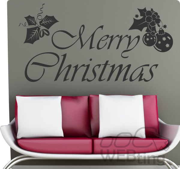 Weihnachten-Christmas-Snow-Wandtattoo-Wandaufkleber-Aufkleber-Sticker-Advent-171154616271