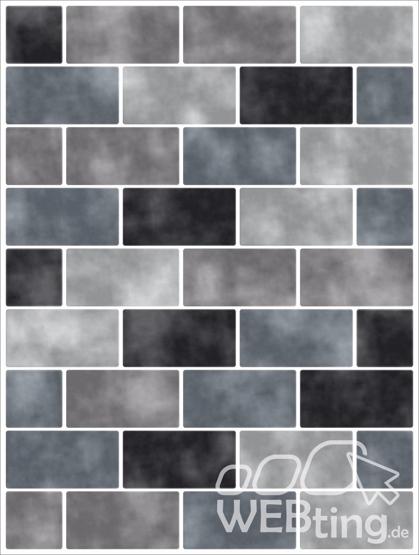 Fliesenaufkleber Fliesenbild Fliesen Aufkleber Fliesenimitat Mosaik Grau