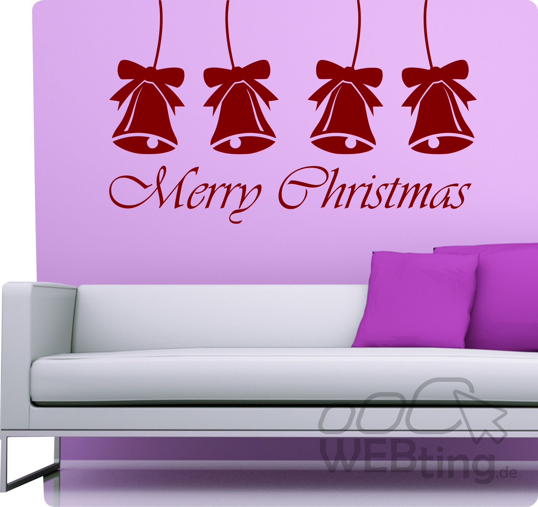 Weihnachten schneeflocken fest wandtattoo wandaufkleber for Wandtattoo weihnachten