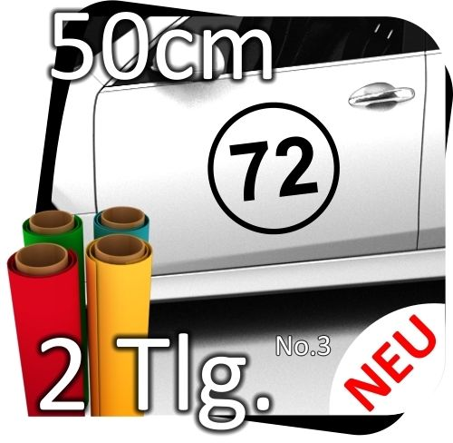 2x-50cm-Nummer-frei-whlbar-Startnummer-Auto-Autoaufkleber-Mottorrad-Sport-No3-180800128904