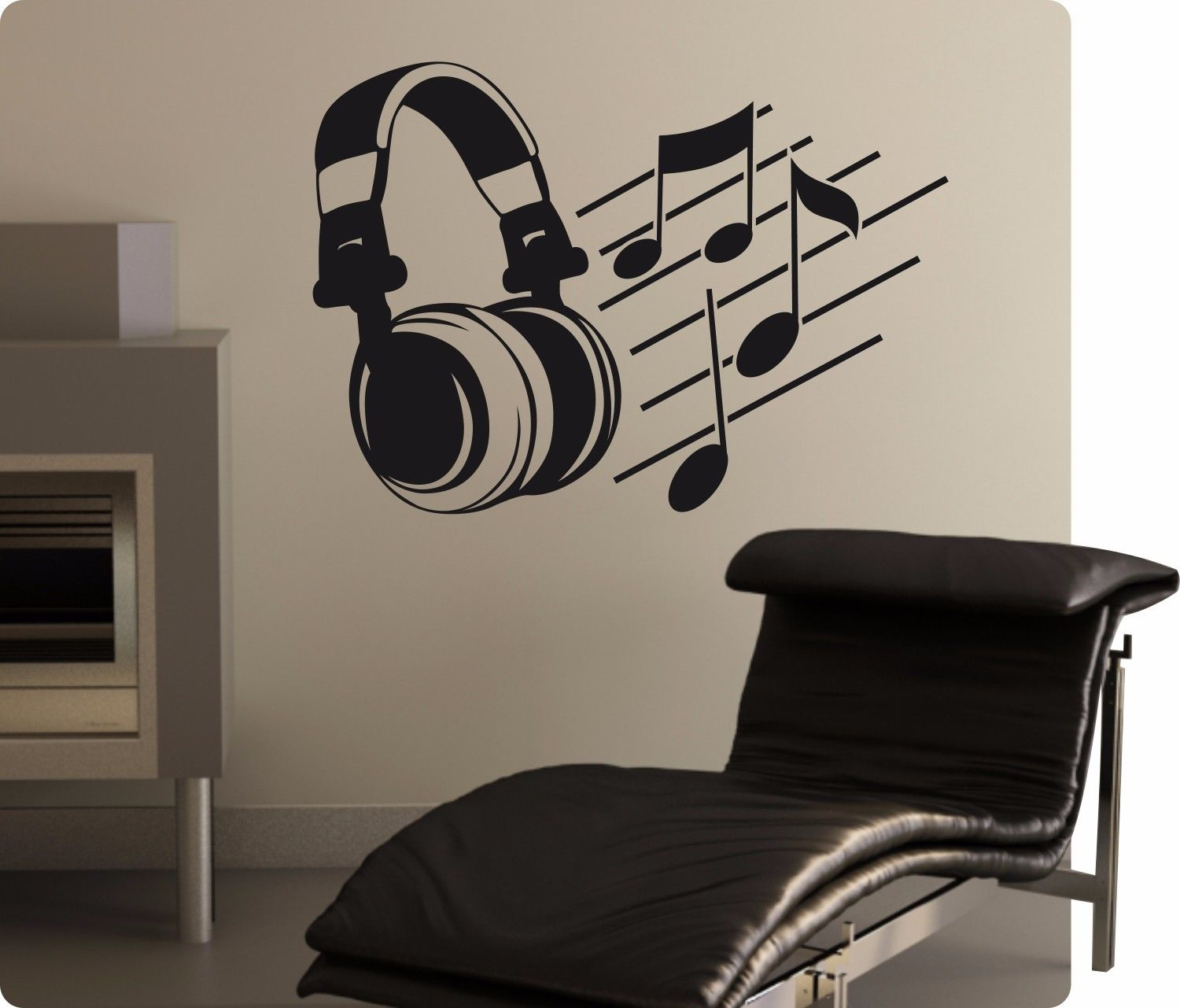 musik tanz disco retro wandtattoo wandaufkleber aufkleber sticker deko no 2. Black Bedroom Furniture Sets. Home Design Ideas