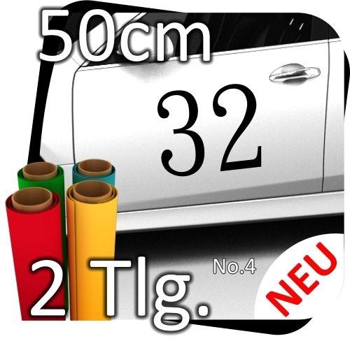 2x-50cm-Nummer-frei-whlbar-Startnummer-Auto-Autoaufkleber-Mottorrad-Sport-No4-170767009285