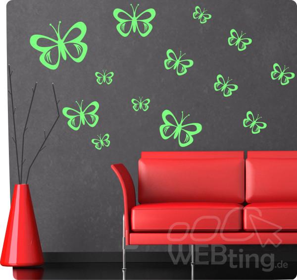 Schmetterling-Wandtattoo-Wandaufkleber-Aufkleber-Fensterdeko-Tattoo-Sticker-Wand-180571285875