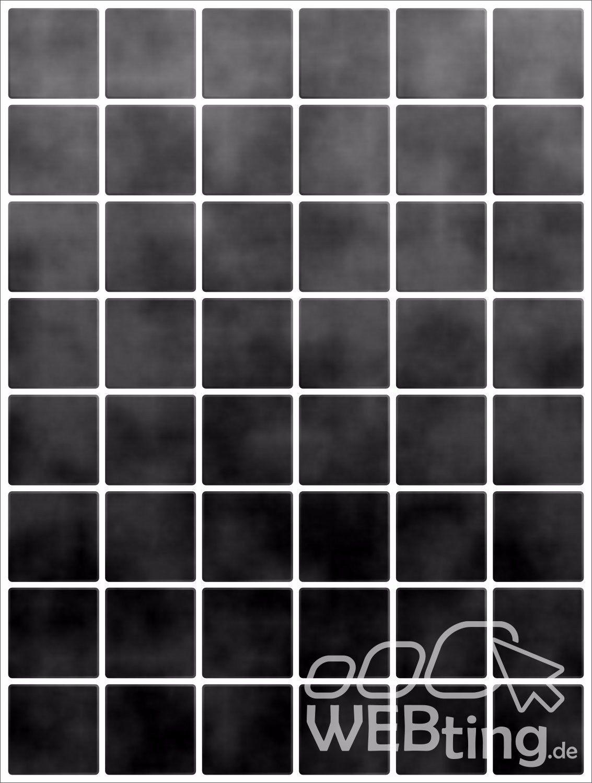 20x25cm schwarz fliesenaufkleber fliesen aufkleber fliesenimitat mosaik m6 - Selbstklebefolie mosaik ...