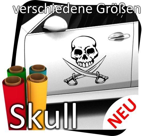 Totenkopf-Skull-Skulls-Sticker-Aufkleber-Autoaufkleber-Piraten-Wandtattoo-12-171073004946