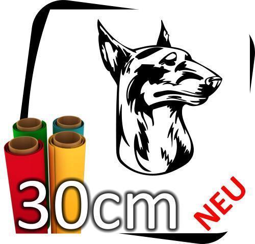 30cm-Hund-Hunde-Auto-Name-Pfote-Aufkleber-Sticker-Styling-Puddel-No4-170962681027
