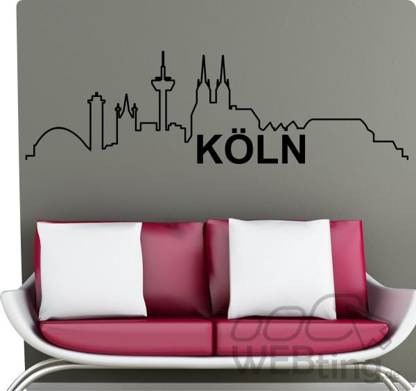 XXL-Wandtattoo-Skyline-Kln-Wandaufkleber-Aufkleber-180843306537