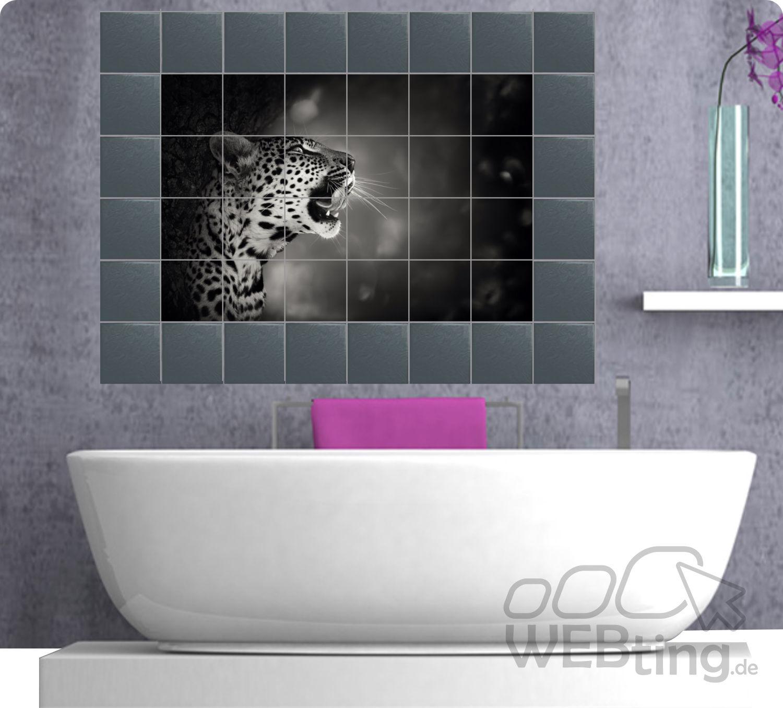 Fliesenaufkleber Fliesenbild Fliesen Aufkleber Sticker Badezimmer ...