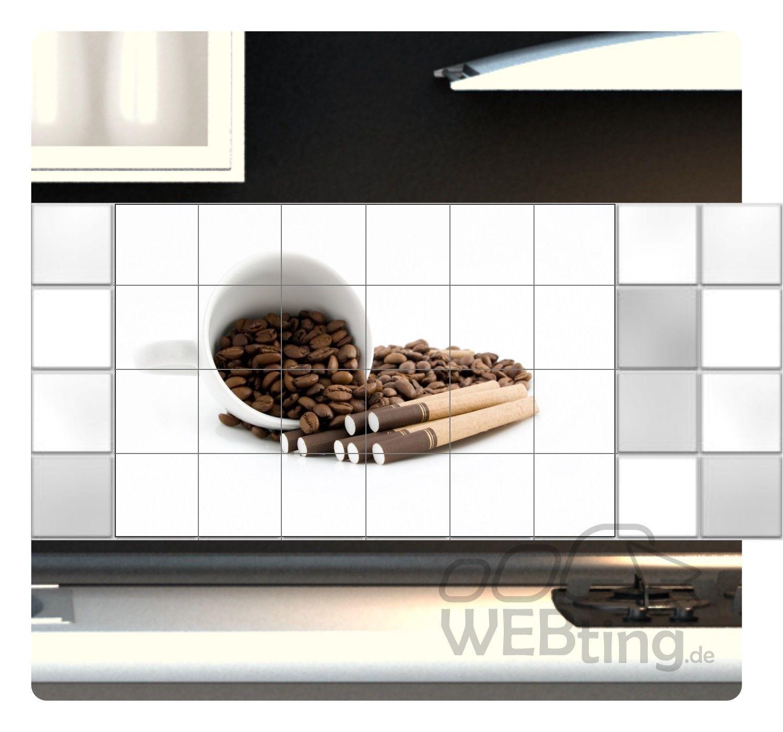 Fliesenaufkleber Fliesenbild Fliesen Aufkleber Sticker Kaffee Pause ...