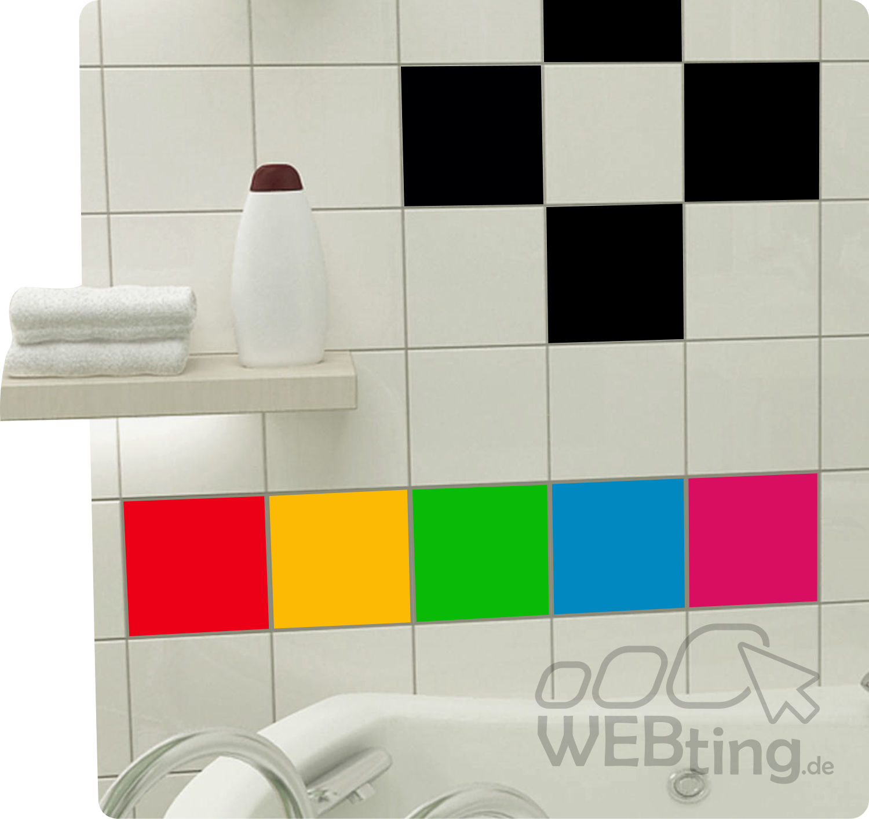 300 stk 15x15cm fliesenaufkleber k che bad fliesendekor aufkleber kacheldekor. Black Bedroom Furniture Sets. Home Design Ideas
