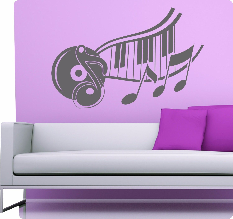 musik tanz disco retro wandtattoo wandaufkleber aufkleber sticker deko. Black Bedroom Furniture Sets. Home Design Ideas